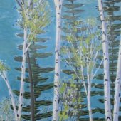 Summer Birches - sold